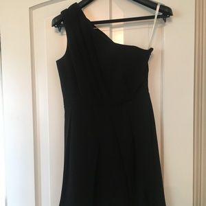 Shoshanna One-Shoulder Dress